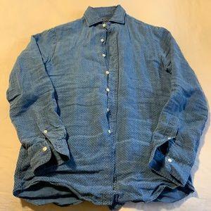 Linen Polo Ralph Lauren Men's Shirt- Almost new